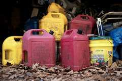 gasoline cans for a generator