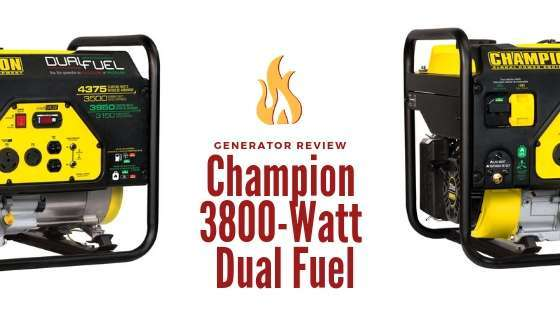 Champion 3800-Watt Dual Fuel Generator Review