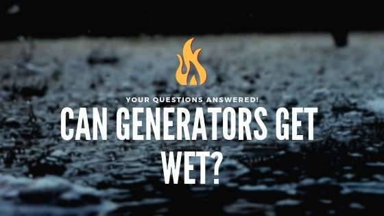 Can Generators Get Wet?