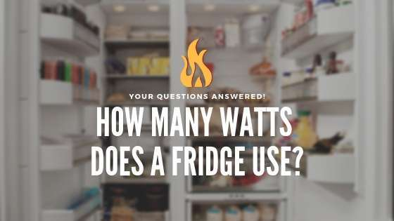 How Many Watts Does a Fridge Use?