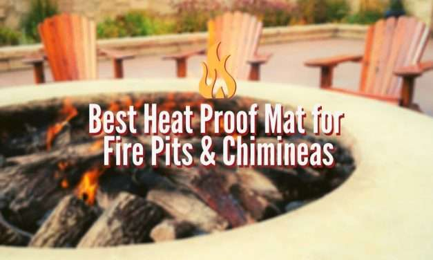 Best Heat Proof Mat For Fire Pit Or Chiminea Heat And Hearth
